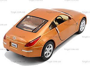Моделька машины Nissan Fairlady 350Z, KT5061W, іграшки