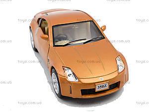 Моделька машины Nissan Fairlady 350Z, KT5061W, детский