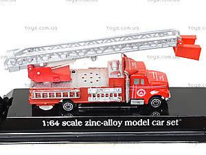 Моделька металлическая «Пожарка», 0750-9, цена