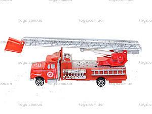 Моделька металлическая «Пожарка», 0750-9, игрушки