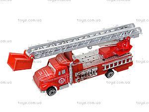 Моделька металлическая «Пожарка», 0750-9, детские игрушки