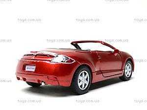 Моделька Mitsubishi Eclipse Spyder, KT5305W, toys.com.ua