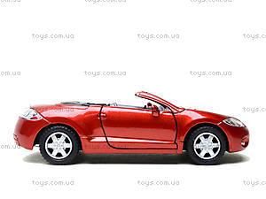 Моделька Mitsubishi Eclipse Spyder, KT5305W, toys