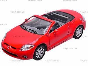 Моделька Mitsubishi Eclipse Spyder, KT5305W, цена