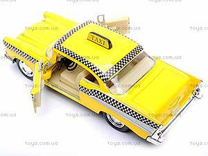 Моделька Такси Chevrolet Bel Air, KT5360W, игрушки