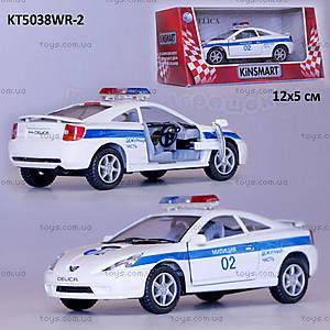 Моделька Toyota Celica «Милиция», KT5038WR-2