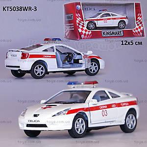 Моделька Toyota Celica «Пожарная», KT5038WR-3