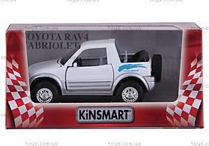 Моделька Тойота RAV 4 Сabriolet, KT5011W, цена