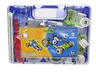 Модельный конструктор «Машины», 2555-8A, купить