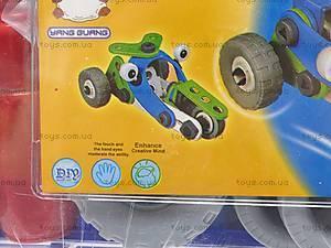 Модельный конструктор «Машины», 2555-8A, фото