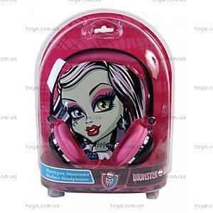 Модные наушники Monster High, 6010-67014