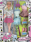 Набор с куклой «Блондинка в юбке», 35079