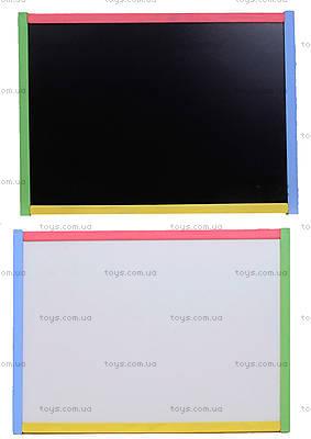 Мольберт для рисования 2-сторонний, цветной, 2C4HK