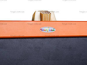 Мольберт двухсторонний разборной «Оранж», М001, игрушки