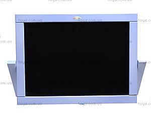 Мольберт двухсторонний настольный, голубой, М008, цена