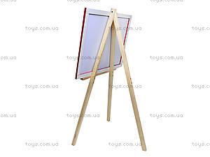 Мольберт для рисования на треноге, разборной, М065, фото