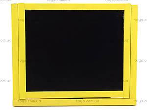 Магнитная  доска-мольберт желтая, , фото
