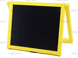 Магнитная  доска-мольберт желтая, , цена