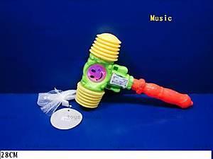Музыкальная игрушка-стучалка, 3218B