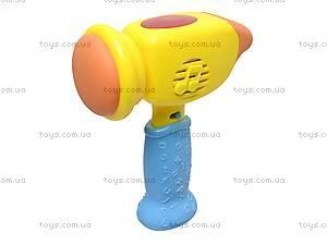 Молоточек детский игрушечный, 889A, цена