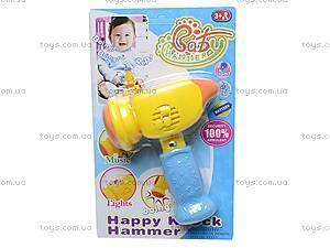 Молоточек детский игрушечный, 889A