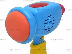 Молоток детский музыкальный, 2202C, игрушки