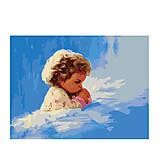 Молитва малыша, картина по номерам, MG1034, купить