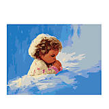 Молитва малыша, картина по номерам, MG1034, фото