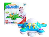 Музыкальная игрушка «Морская звезда», зеленая, ZS8819, отзывы