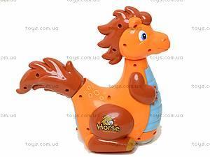 Музыкальная игрушка для детей «Морской конек», 90031, цена