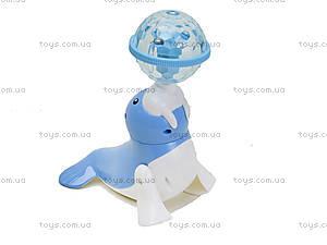 Музыкальный морской Котик нежно-голубого цвета, LD-128A, отзывы