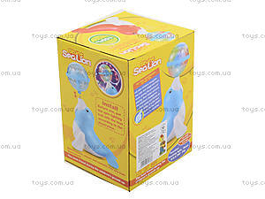 Музыкальный морской Котик нежно-голубого цвета, LD-128A, цена