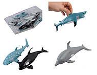 Детские морские животные-тянучки, A026PG, фото