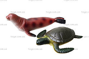 Резиновые игрушки «Морские животные», HA2483, фото