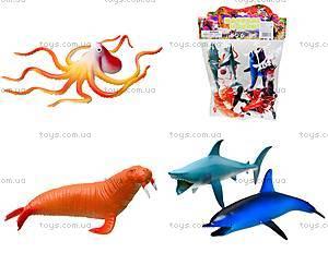 Резиновые игрушки «Морские животные», HA2483