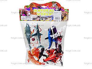 Резиновые игрушки «Морские животные», HA2483, цена