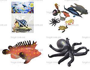 Игрушки резиновые «Морские животные», HC0042R