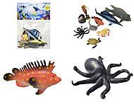 Игрушки резиновые «Морские животные», HC0042R, фото