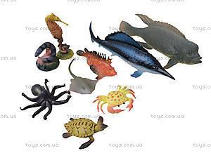 Игрушки резиновые «Морские животные», HC0042R, детские игрушки