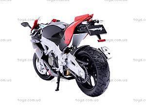 Мотоцикл APRILIA 4 FACTORY, масштаб 1:18, 12833PW, купить