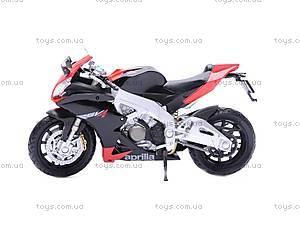 Мотоцикл APRILIA 4 FACTORY, масштаб 1:18, 12833PW, фото