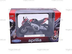 Мотоцикл APRILIA 4 FACTORY, масштаб 1:18, 12833PW, отзывы
