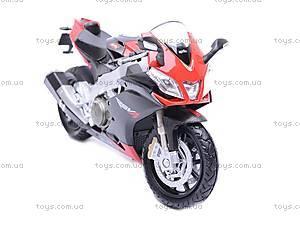 Мотоцикл APRILIA 4 FACTORY, масштаб 1:18, 12833PW, цена