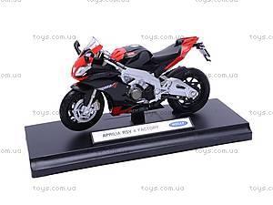 Мотоцикл APRILIA 4 FACTORY, масштаб 1:18, 12833PW