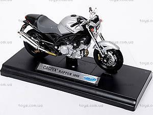 Мотоцикл CAGIVA RAPTOR, масштаб 1:18, 12159PW