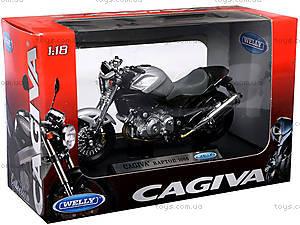 Мотоцикл CAGIVA RAPTOR, масштаб 1:18, 12159PW, фото