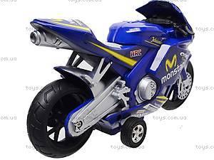 Мотоцикл детский инерционный, 1029-3, фото