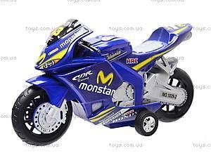 Мотоцикл детский инерционный, 1029-3, цена
