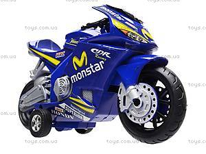 Мотоцикл детский инерционный, 1029-3, игрушки