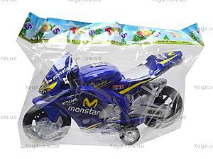 Мотоцикл детский инерционный, 1029-3, магазин игрушек